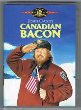 CANADIAN BACON - MICHAEL MOORE - JOHN CANDY - DVD - TRÈS BON ÉTAT