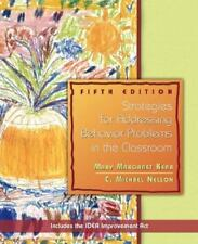 Strategies for Addressing Behavior Problems in the Classroom 5th Edition