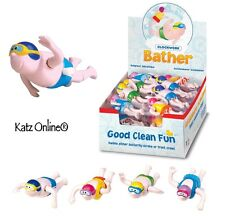 Kids Bath Time Play Wind Up Clockwork Swimmer Bather Toy Child Party Bag Fillers