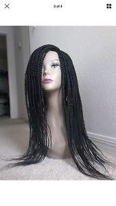 Fully Hand Braided Africa box braid wigs
