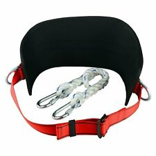 Safety Belt With Hip Pad, Safety Harness and 2 D-Rings Stranded Size-Climbing