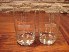 MARTELL COGNAC 2 GLASSES