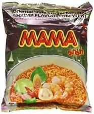 Mama Thai Instant Noodle Tom Yum Shrimp Flavour Hot Spicy Food Ramen (30 Pack)