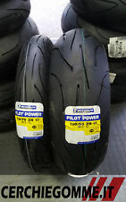 COPPIA GOMME MOTO MICHELIN PILOT POWER 120/70 17 190/50 17 PNEUMATICI DOT 2017