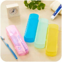 Travel Case Hiking Toothbrush & Toothpaste Portable Holder Protect Box