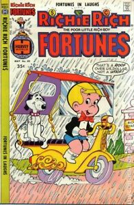 Richie Rich Fortunes #40 FN 6.0 1978 Stock Image