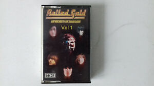 THE ROLLING STONES  ROLLED GOLD VOLUME 1 CASSETTE TAPE  ***PAPER LABELS***