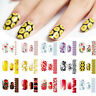New Nail Art Sticker Water Transfer Stickers Flower Decals Tips Nail Decoration