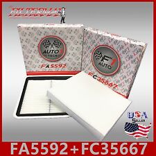 FA5592 FC35667 49012 24488 ENGINE & CABIN AIR FILTER: 2010-2017 OUTBACK & LEGACY