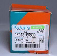 Genuine Kubota 1E013-63590 starter switch