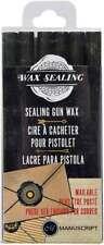 Sealing Gun Wax Sticks 6/Pkg Black 499991062959
