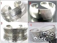 New!!!!!!!!!! Tibetan Tibet Silver Totem Bangle Cuff Bracelet 4 style