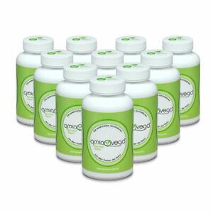 aminovega® - 10x 120 Tabs á 1 g - 8 essent. Aminosäuren ( (20,44 EUR/100 g))