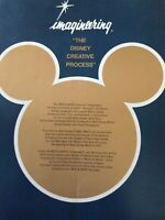 "1952 VINTAGE  IMAGINEERING FOUNDED  ""THE DISNEY CREATIVE PROCESS"" WED & MAPO"