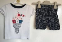 Baby Gap Girls 2 Piece Summer Outfit. Age 18-24 Months