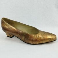 Vintage Johansen Women's Shoes Slipons Low Heel Pumps.