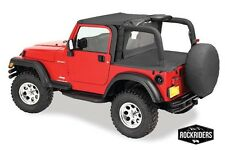 97-06 Jeep Wrangler TJ Windbreaker, Tonneau, Bikini Top with Channel Summer Kit