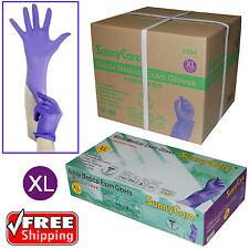 1000pcs 3.5mil Soft Nitrile Powder-free Medical Exam Gloves (Latex Vinyl Free)XL