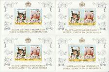 4 Blocks Nevis Queen Mint 4a