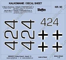 1:16 - DECALS - PzKpfw. V PANTHER Ausf. A 4 komp., 2 Panzer Reg., 2 Panzer Div.