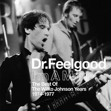 DR. FEELGOOD I'M A MAN Best of Wilko Johnson Years 1974-1977 REMASTERED CD NEW