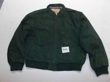 Abbigliamento vintage da uomo verde in pelle