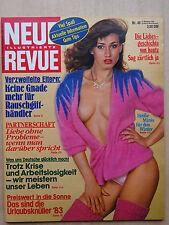 Neue Revue Nr 48/1982, Richard Chamberlaine, Inge Meysel, Otto Weiser