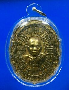 Thai Amulet Powerful Magic Rian LP Koon THAI BUDDHA Waterproof Plastic pendant