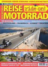 RM0605 + BMW R 1200 GS Adventure im Vergleich + REISE MOTORRAD 5 2006