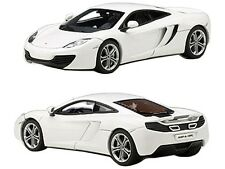 MCLAREN MP4-12C WHITE 1/43 DIECAST CAR MODEL BY AUTOART 56009