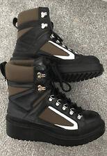 Zara Flat Mountain Boots