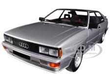 1980 AUDI QUATTRO SILVER LTD ED 1/18 DIECAST MODEL CAR BY MINICHAMPS 155016122