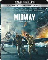 Midway (4K Ultra HD Blu-ray Disc + Blu-ray Disc + Digital, 2020) New, Sealed