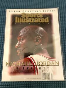 Michael Jordan A Tribute Sports Illustrated 1999 Special Collector's Ed New Mint