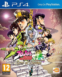 PS4-JoJo`s Bizarre Adventure: Eyes of Heaven /PS4 GAME NEW