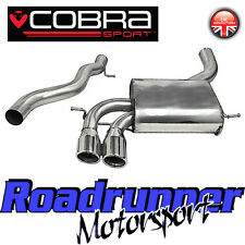 "Cobra Audi S3 8P 3 Door 2.0 3"" Cat Back Exhaust Stainless Non Res - AU07-YTP10L"