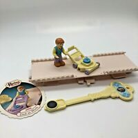 Precious Places Fisher Price Dad At Work Vintage Dollhouse Miniature Magnetic