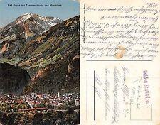 Kt. St. Gallen - Bad Ragaz mit Taminaschlucht und Monteluna RAR STEMPEL(A-L 640)