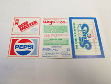 Winston-Salem Spirits 1988 Minor Baseball Pocket Schedule - Pepsi/Beef Master