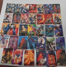 Marvel Masterpiece 1994/95 and 1995 Fleer Ultra Cards