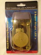 Survival Flashlights Never Needs Batteries LED Energy Efficient Homesteading Kit