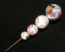 BROOCH/STICK PIN S18 Cloisonne Beads Fashion STICKPIN