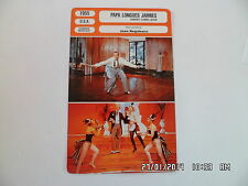 Fiche cinema card 1955 daddy long legs fred astaire leslie caron terry moor