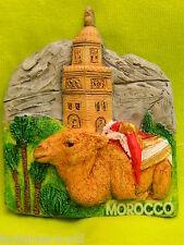 Morocco Marrakech Camel New  3D Fridge Magnet Refrigerator