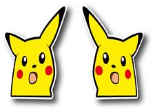Surprised Pikachu pokemon eme  peeker peeper sticker