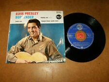 ELVIS PRESLEY - EP FRENCH RCA 86303 - SUMMER KISSES WINTER + 3 /LISTEN - POPCORN