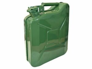 Faithful 10L Steel Jerry Can, Green