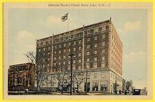 cpa CANADA Admiral Beatty HOTEL, SAINT JOHN New Brunswick