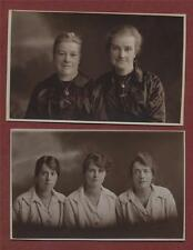LEICESTER c.1920  Fisher. Ladies Moyes Surname   RP photograph   postcards  ps37
