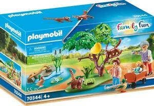 Playmobil - Zoo Red Panda Habitat PMB70344